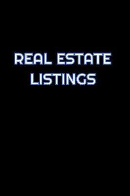 Real Estate Listings by Simply Career Notebooks