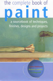 The Complete Book of Paint by Liz Wagstaff image