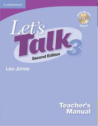 Let's Talk Teacher's Manual 3 with Audio CD by Leo Jones