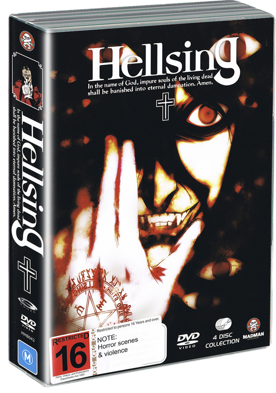 Hellsing Collection (4 Disc Amaray Case) on DVD