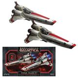 Battlestar Galactica Viper MKII 1:72 Scale Model Kit - 2 Pack