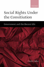 Social Rights Under the Constitution by Cecile Fabre image