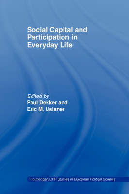 Social Capital and Participation in Everyday Life