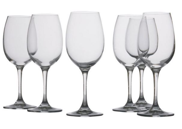 Maxwell & Williams: Mansion - White Wine Glasses 6 Set (240ml)