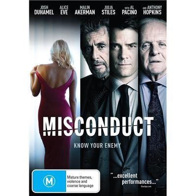 Misconduct on DVD