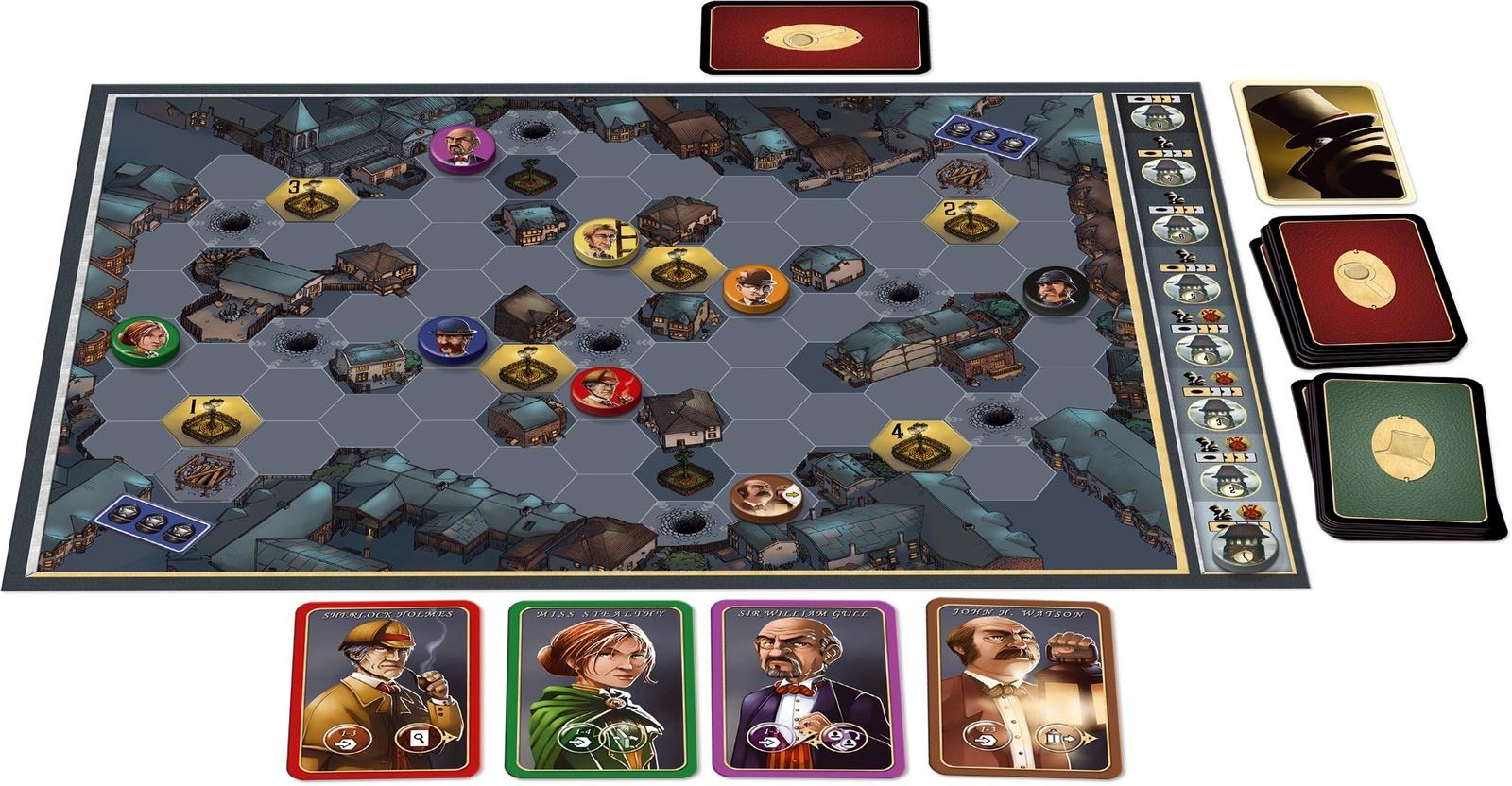 Mr. Jack - Board game image
