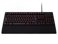 Fnatic Rush Pro Gaming Keyboard - Cherry MX Red for PC Games