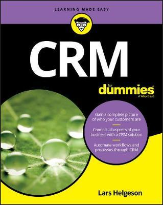 CRM For Dummies by Lars Helgeson image