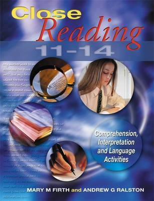 Close Reading 11-14 by Mary M. Firth