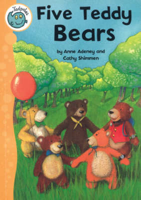Five Teddy Bears by Anne Adeney