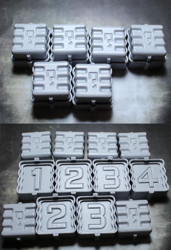 Secret Weapon 40mm Super Secret Objective Markers 01 (1, 2, 2, 3, 3, 4) image