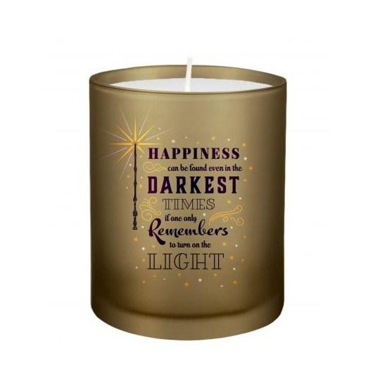 Harry Potter: Turn On The Light Glass Votive Candle