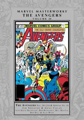 Marvel Masterworks: The Avengers Vol. 20 by Jim Shooter