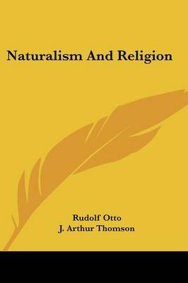Naturalism and Religion by Rudolf Otto image