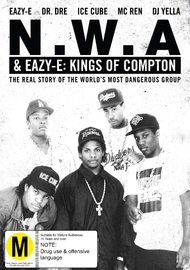 N.W.A & Eazy-E: Kings of Compton on DVD