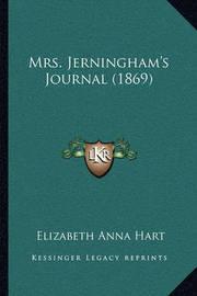 Mrs. Jerningham's Journal (1869) by Elizabeth Anna Hart