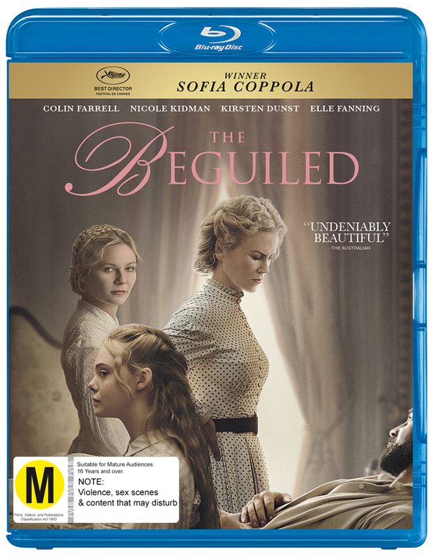 The Beguiled on Blu-ray