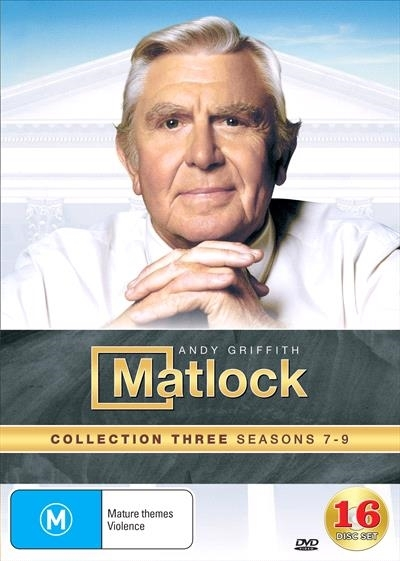 Matlock Collection 3 (Seasons 7-9) on DVD