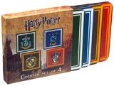 Harry Potter - House Crest Coaster Set