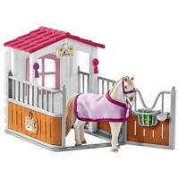 Schleich: Horse Stall with Lusitano Mare