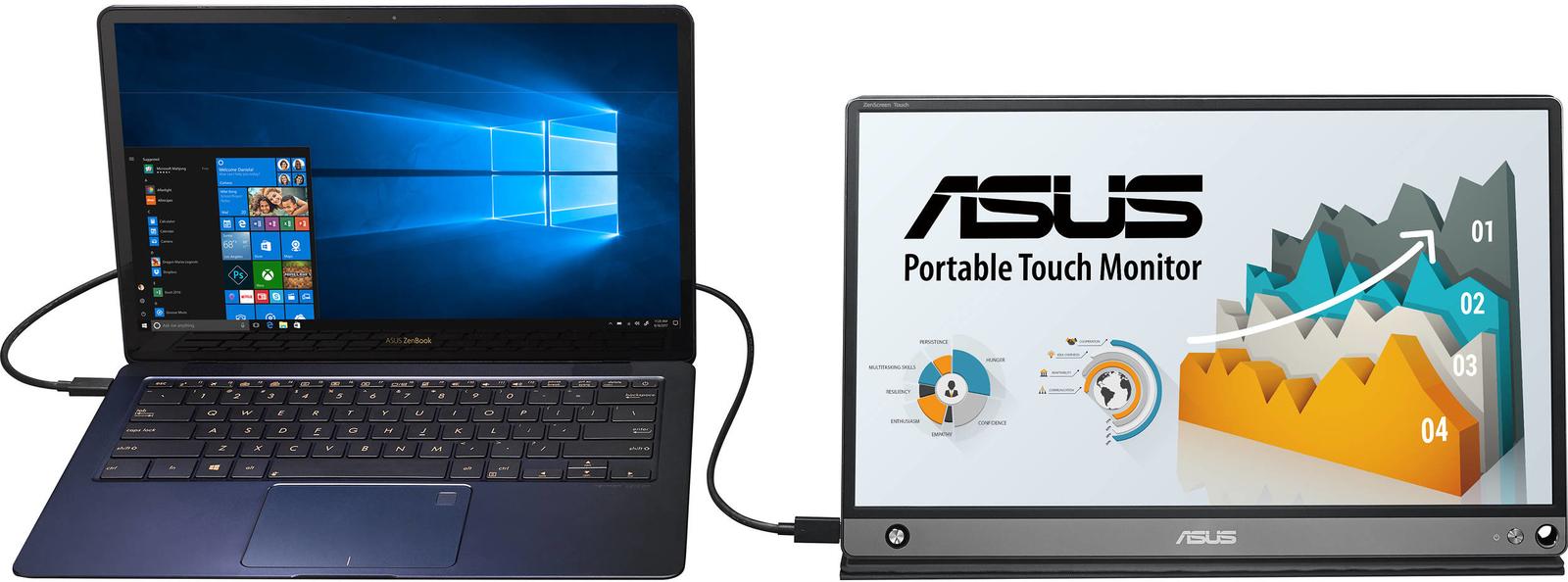 "15.6"" ASUS ZenScreen Touchscreen USB Monitor image"
