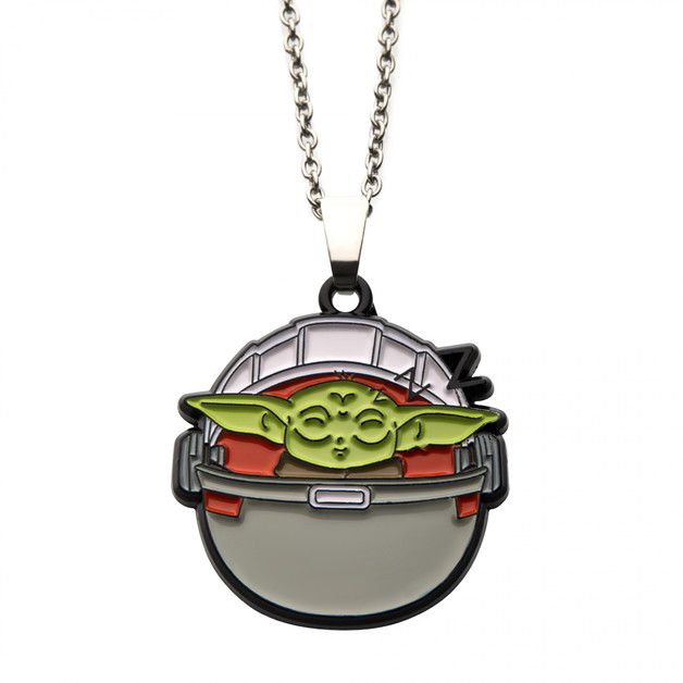 Star Wars: The Mandalorian - The Child Sleeping Pod Necklace