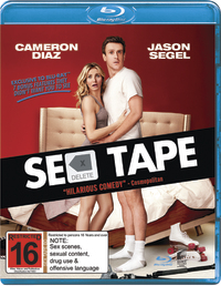 Sex Tape on Blu-ray