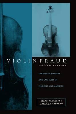 Violin Fraud by Brian W Harvey image