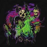 World of Warcraft: Legion - Destroyer of Dreams Guldan T-Shirt (XL) image