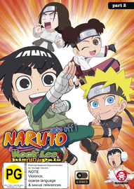 Naruto Spin-off: Rock Lee And His Ninja Pals Part 2 (eps 27-51) DVD