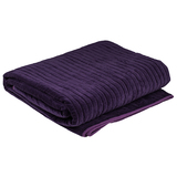 Bambury Cotton Velvet Blanket (Plum)