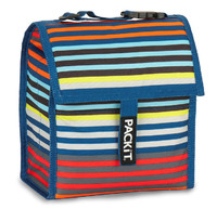 PackIt Freezable Mini Lunch Bag - Cali Stripe