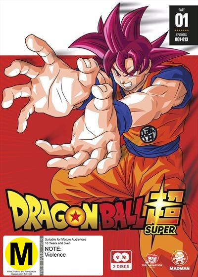 Dragon Ball Super: Part 1 (Eps 1-13) on DVD image