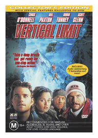 Vertical Limit on DVD image