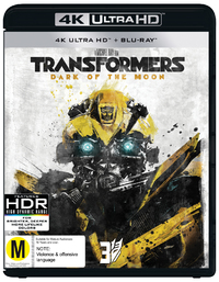 Transformers: Dark Of The Moon on UHD Blu-ray