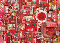 Cobble Hill: The Rainbow Project (Red) - 1000pc Puzzle image