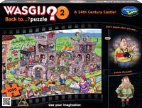 Wasgij: Back To Puzzle - 14th Century Castle 1000pce
