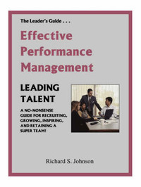 Effective Performance Management by Richard S. Johnson image