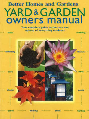 Yard and Garden Owners Manual