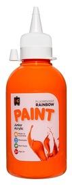 EC Colours - 250ml Rainbow Acrylic Paint - Fluoro Orange