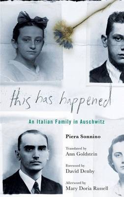 This Has Happened by Piera Sonnino