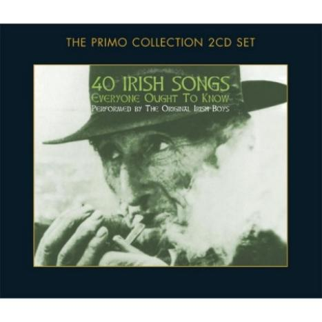 40 Irish Songs Everyone Ought To Know (2CD) by The Original Irish Boys image