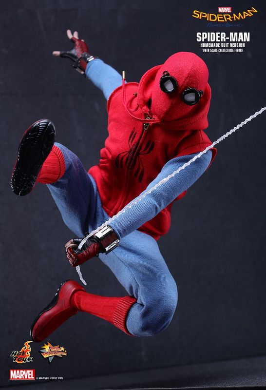 "Spider-Man: Homecoming: (Homemade Suit Ver.) - 12"" Articulated Figure"