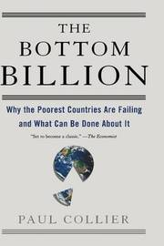 The Bottom Billion by Paul Collier image