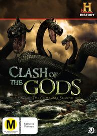 Clash of the Gods - Complete Season 1 (3 Disc Set) on DVD