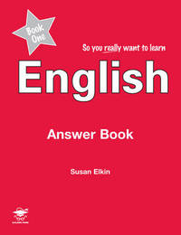 So You Really Want to Learn English Book 1 by Susan Elkin image