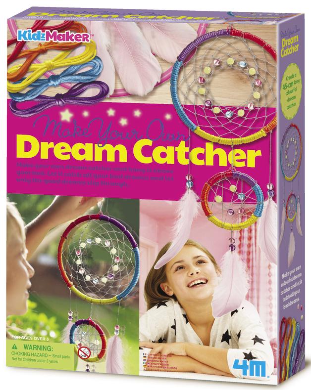 4M KidzMaker: Make Your Own Dream Catcher Craft Kit