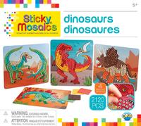 The Orb Factory: Sticky Mosaics - Dinosaurs