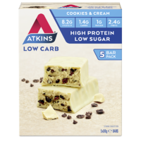 Atkins Advantage Bar - Cookies & Cream (5x30g)
