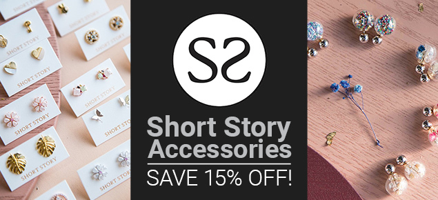 15% off Short Story Jewellery!